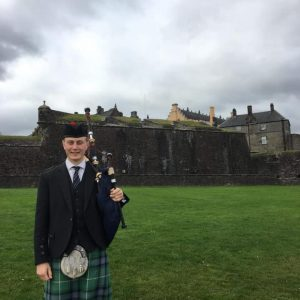 Callum Wynd Stirling Wedding Piper