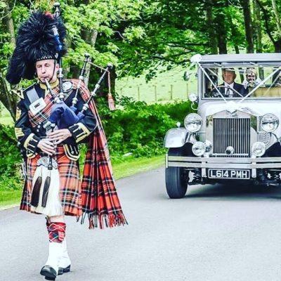 Wedding Piper Glasgow