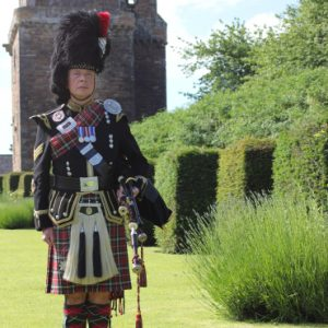 Kenny McBride Edinburgh Wedding Piper
